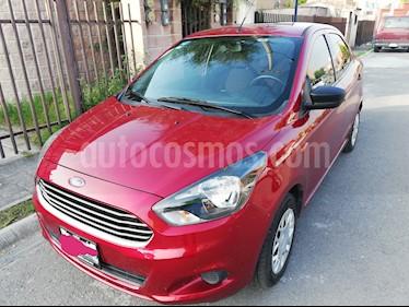 Ford Figo Sedan Impulse A/A usado (2018) color Rojo Rubi precio $135,000
