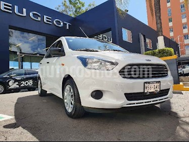 Ford Figo Sedan Impulse Aut A/A usado (2018) color Blanco precio $177,900