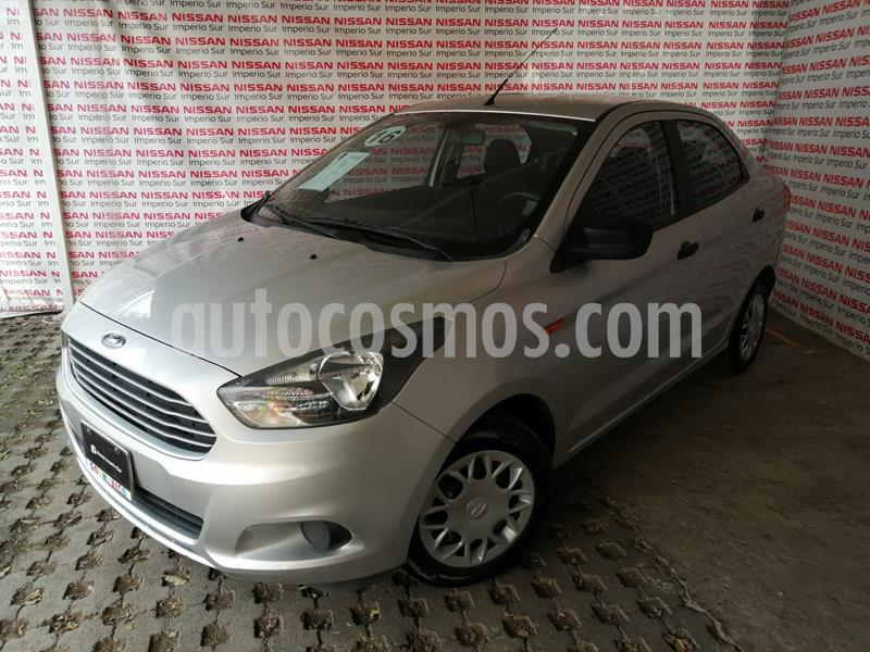 Ford Figo Sedan Impulse  usado (2016) color Plata Estelar precio $130,000