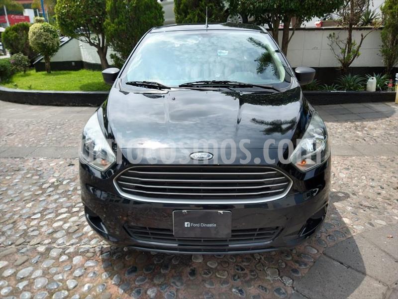 Ford Figo Sedan Impulse A/A usado (2018) color Negro precio $160,000
