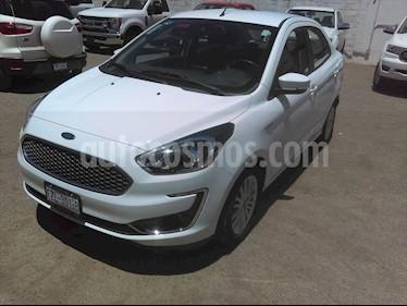 Ford Figo Sedan Titanium Aut usado (2019) color Blanco precio $195,000