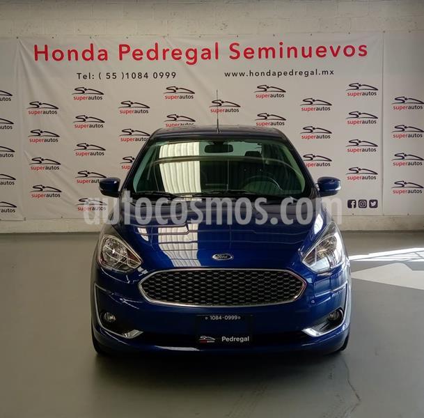 Ford Figo Sedan Titanium usado (2020) color Azul precio $278,000