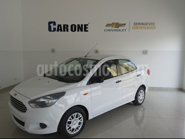 Ford Figo Sedan Impulse A/A usado (2016) color Blanco precio $139,900