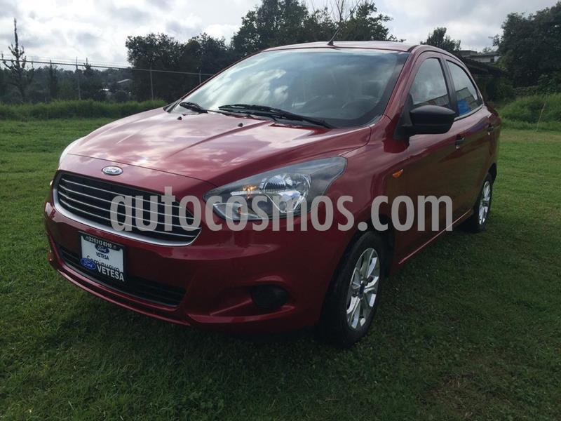 Ford Figo Sedan Energy usado (2018) color Rojo Rubi precio $165,000