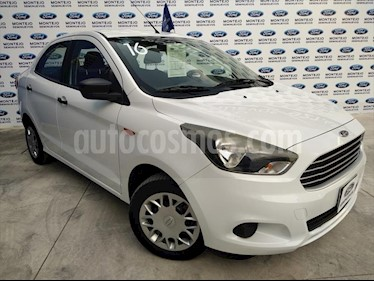 Ford Figo Sedan IMPULSE L4/1.5 MAN A/A usado (2016) color Blanco precio $130,000