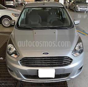 Ford Figo Sedan Titanium Aut usado (2017) color Plata precio $169,000
