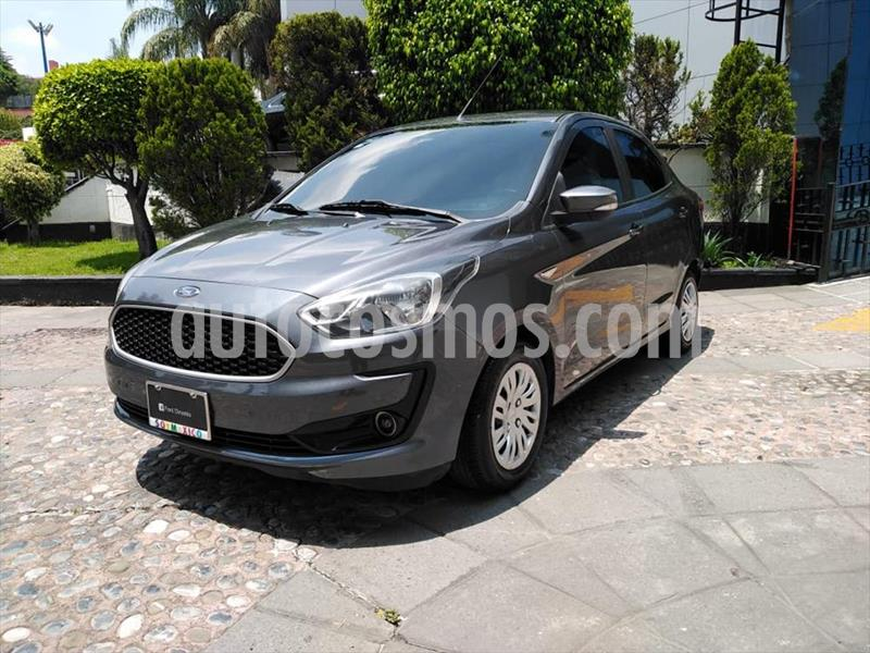 Ford Figo Sedan Impulse A/A usado (2019) color Gris Oscuro precio $179,000