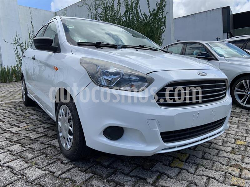 Ford Figo Sedan Impulse A/A usado (2016) color Blanco precio $124,999