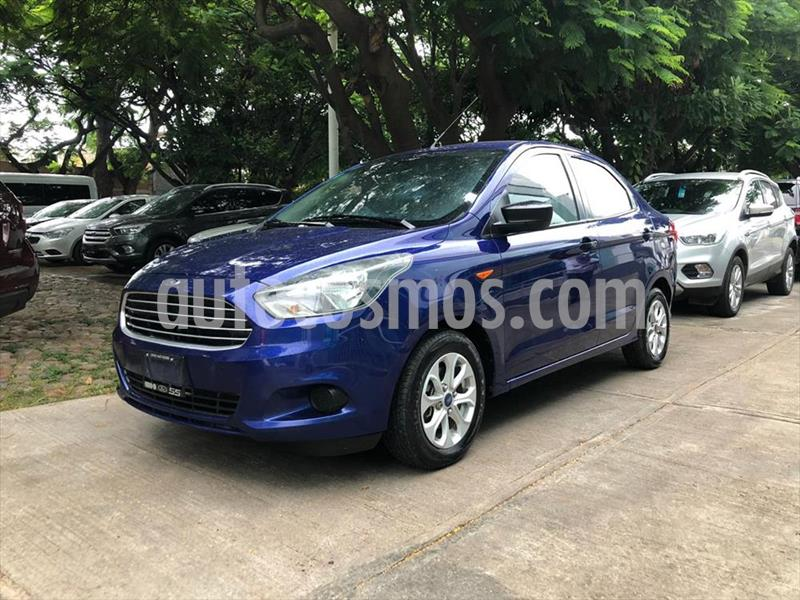 Ford Figo Sedan ENERGY L4/1.5 AUT usado (2016) color Azul Electrico precio $139,000
