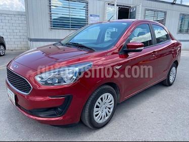 Ford Figo Sedan Impulse Aut A/A usado (2019) color Rojo precio $195,000