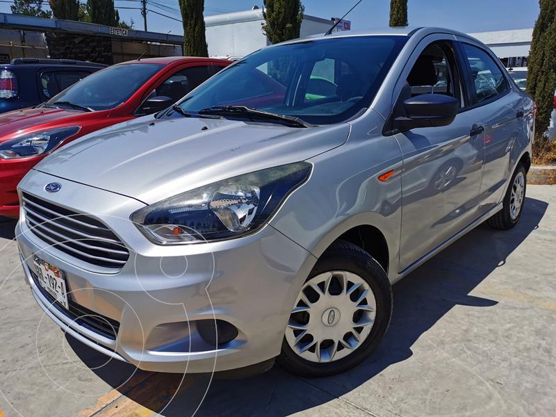 Foto Ford Figo Sedan Impulse  usado (2018) color Plata Estelar financiado en mensualidades(enganche $43,500 mensualidades desde $4,103)
