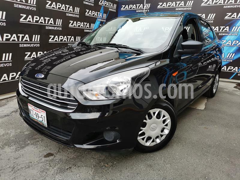Ford Figo Sedan Impulse  usado (2018) color Negro precio $150,000