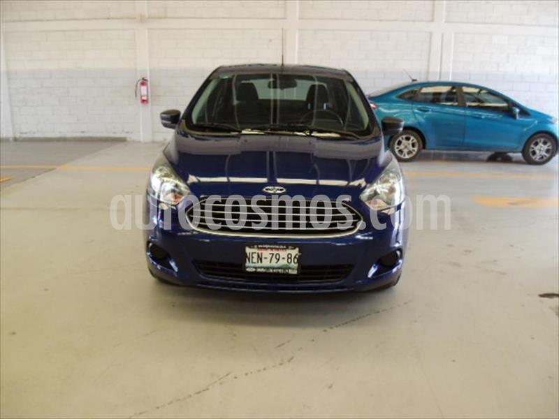 Ford Figo Sedan Impulse  usado (2017) color Azul Electrico precio $135,000