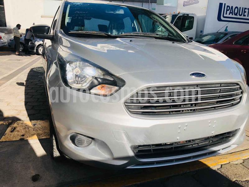 Ford Figo Sedan Impulse A/A usado (2018) color Plata precio $149,000