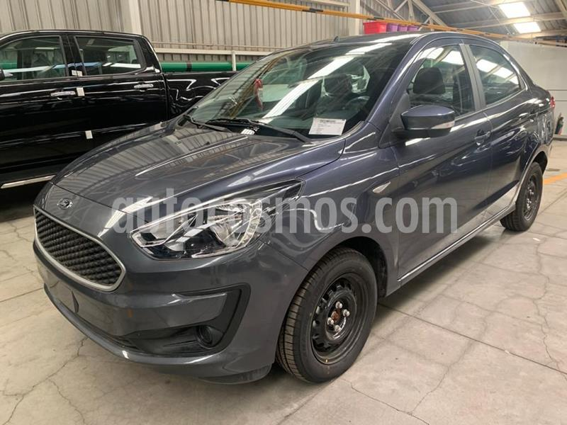 Ford Figo Sedan Impulse  usado (2019) color Gris precio $214,500