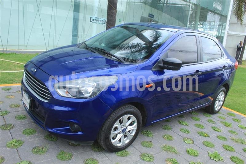 Ford Figo Sedan Energy usado (2018) color Azul Electrico precio $155,000