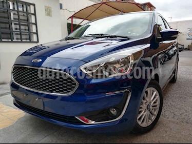 Ford Figo Sedan Titanium Aut usado (2020) color Azul precio $240,000