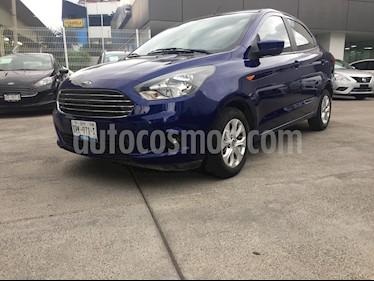 Ford Figo Sedan Titanium Aut usado (2018) color Azul precio $178,000
