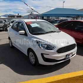 Ford Figo Sedan Impulse A/A usado (2019) color Blanco precio $179,000