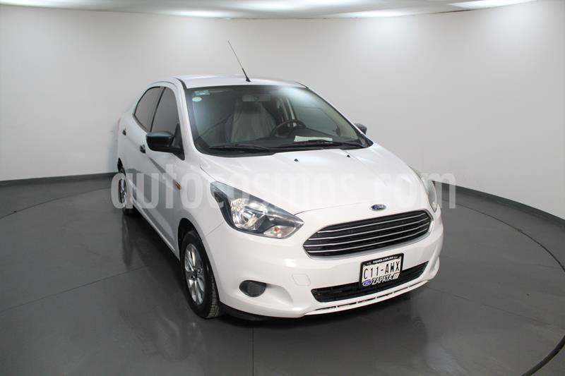 Ford Figo Sedan Energy usado (2018) color Blanco Oxford precio $148,400