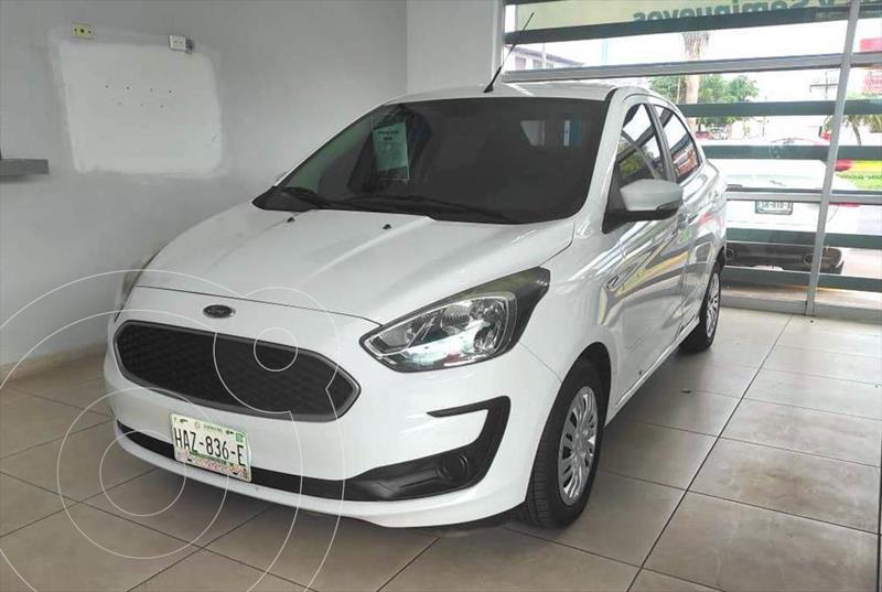Foto Ford Figo Sedan Impulse A/A usado (2019) color Blanco precio $189,000