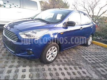 Ford Figo Sedan Energy usado (2018) color Azul Electrico precio $166,000
