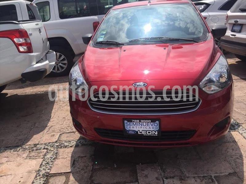 Ford Figo Sedan Impulse A/A usado (2018) color Rojo precio $159,000