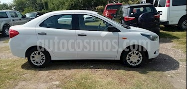 Ford Figo Sedan Impulse Aut A/A usado (2018) color Plata precio $150,000