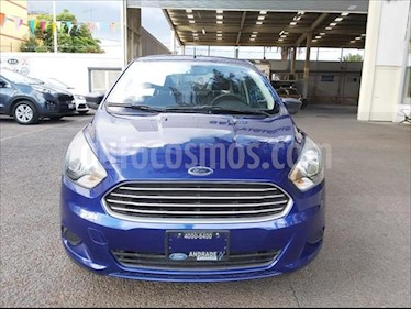Ford Figo Sedan Energy usado (2017) color Azul Electrico precio $180,000