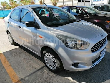 Ford Figo Sedan IMPULSE L4/1.5 AUT A/A usado (2016) color Plata precio $155,000