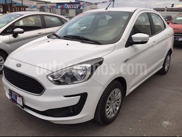 Ford Figo Sedan Impulse Aut A/A usado (2019) color Blanco precio $179,000