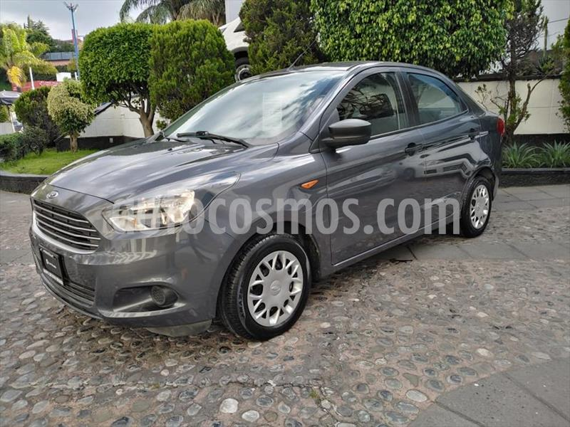 Ford Figo Sedan Impulse A/A usado (2018) color Gris Oscuro precio $160,000