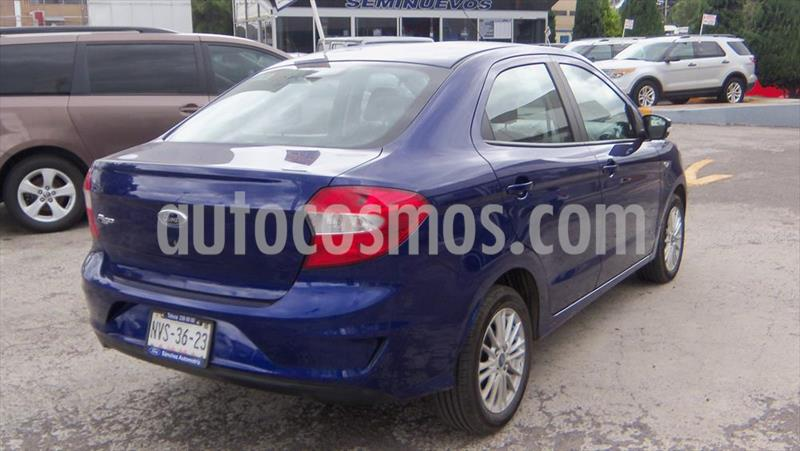 Ford Figo Sedan Impulse A/A usado (2020) color Azul Electrico precio $190,000