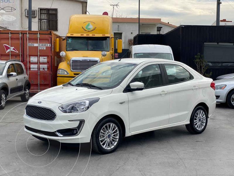 Ford Figo Sedan Titanium Aut usado (2020) color Blanco precio $235,800