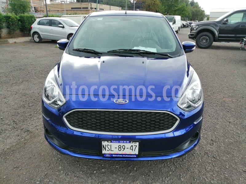 Ford Figo Sedan Impulse Aut A/A usado (2019) color Azul precio $175,000