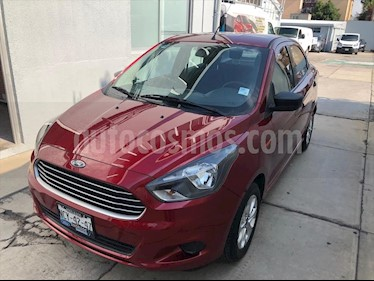 Ford Figo Sedan Energy usado (2018) color Rojo precio $153,000