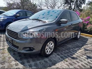 Ford Figo Sedan Titanium Aut usado (2018) color Gris Oscuro precio $189,000