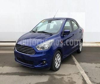 Ford Figo Sedan Titanium usado (2017) color Azul precio $159,000