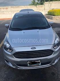 Ford Figo Sedan Titanium Aut usado (2017) color Plata Estelar precio $140,000