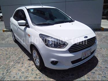 Foto venta Auto usado Ford Figo Sedan Titanium Aut (2017) color Blanco Oxford precio $170,000