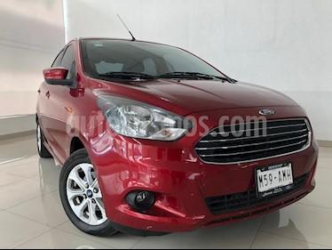 Foto venta Auto usado Ford Figo Sedan Titanium Aut (2017) color Rojo Rubi precio $179,900