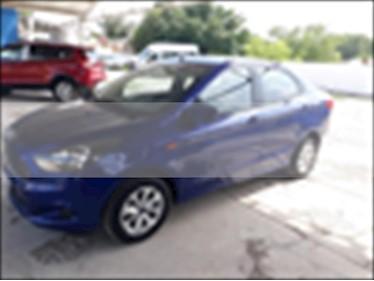 Foto venta Auto usado Ford Figo Sedan Titanium Aut (2017) color Azul Electrico precio $180,000