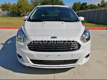 Foto Ford Figo Sedan Titanium Aut usado (2018) color Blanco Oxford precio $195,000