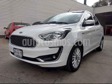 Foto venta Auto usado Ford Figo Sedan Titanium Aut (2019) color Blanco precio $235,000