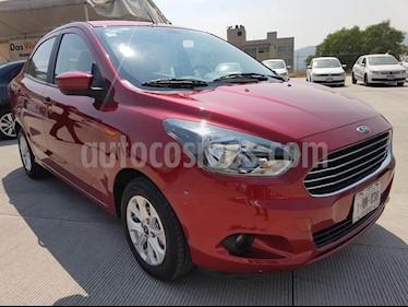 Foto Ford Figo Sedan Titanium Aut usado (2018) color Rojo Rubi precio $204,000