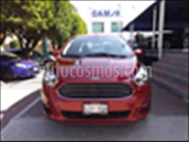 Ford Figo Sedan Titanium Aut usado (2017) color Rojo precio $169,000