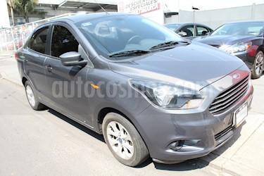 Foto venta Auto usado Ford Figo Sedan Titanium (2017) color Gris Hierro precio $200,000