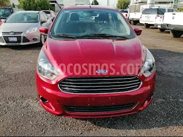 Foto venta Auto usado Ford Figo Sedan Titanium (2018) color Rojo precio $185,000