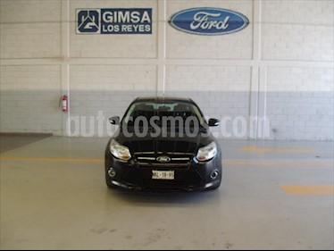 Ford Focus Hatchback Trend Aut usado (2014) color Negro precio $135,000