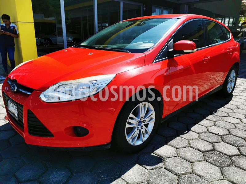 Ford Focus Hatchback Trend Aut usado (2014) color Rojo Racing precio $130,000